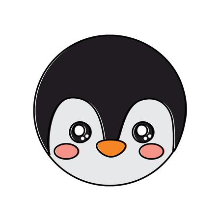Penguin cute animal icon image. Vector illustration design.