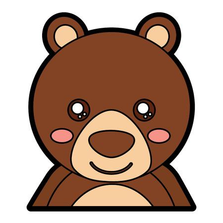Bear cute animal icon image. Vector illustration design.