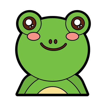 Frog image illustration. Illustration