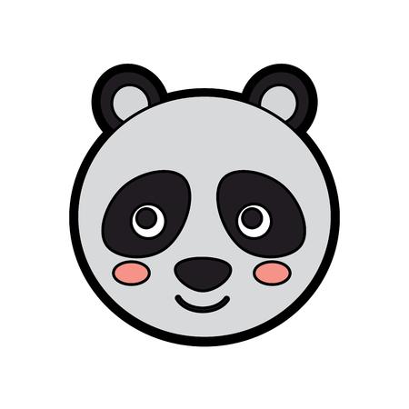 Panda image illustration. Illustration