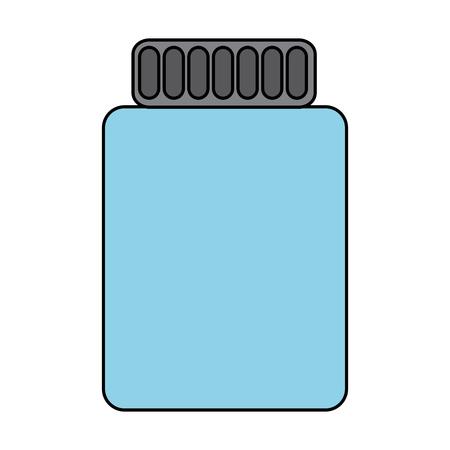 항아리 아이콘 이미지 벡터 일러스트 레이 션 디자인을 마감했다. 스톡 콘텐츠 - 93444515