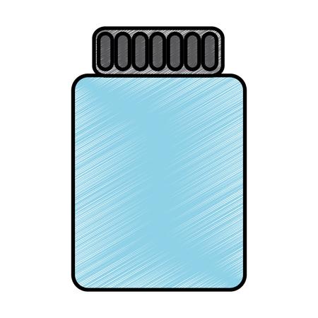 瓶閉じたアイコン画像ベクトルイラストデザイン  イラスト・ベクター素材