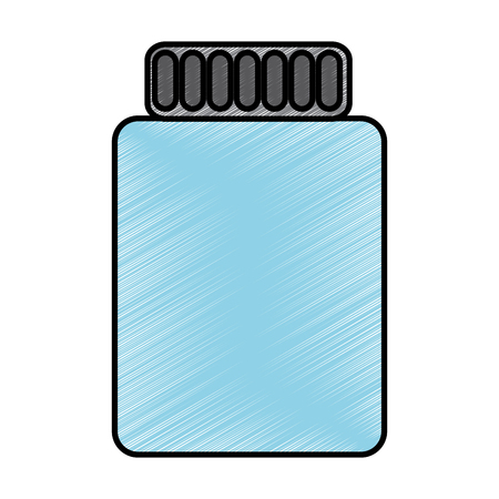 jar closed icon image vector illustration design Banco de Imagens - 93444419