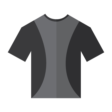 t shirt crew neck icon image vector illustration design