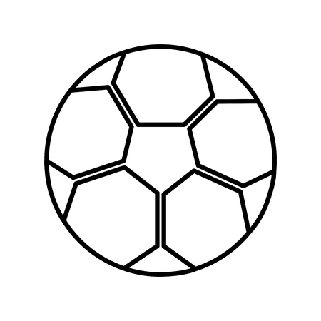 ball football soccer icon image vector illustration design