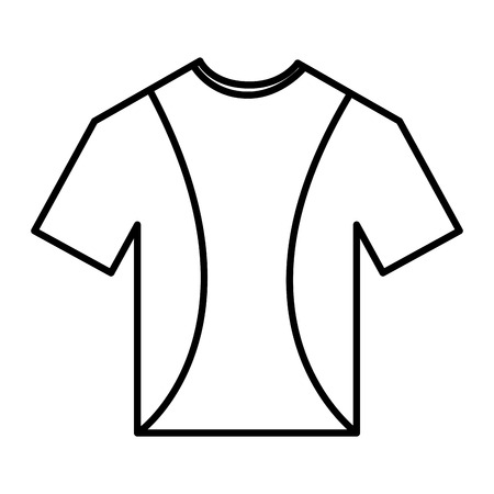 t 셔츠 크루 넥 아이콘 이미지 벡터 일러스트 레이 션 디자인