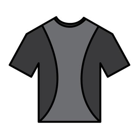 t shirt crew neck icon image vector illustration design
