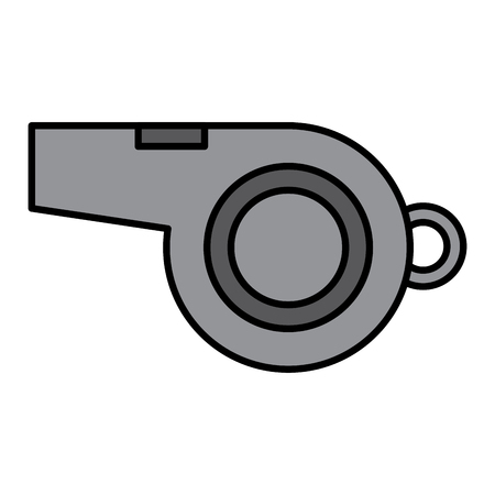 whistle sideview icon image vector illustration design  Illustration