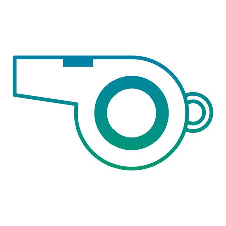 審判ホイッスル機器オブジェクト要素ベクトルイラスト