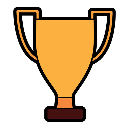 trophy cup icon image vector illustration design Stock fotó - 93455464