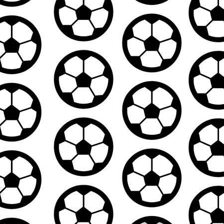 ball football soccer pattern image vector illustration design