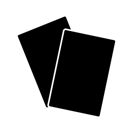 documents papers blank icon image vector illustration design  black and white