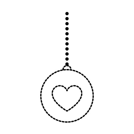 Hanging Ball with heart icon