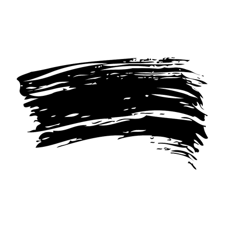ink brush stroke grunge hand painted vector illustration