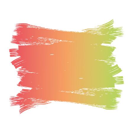 ブラシインク色塗装水彩スプロット抽象テクスチャベクトルイラスト