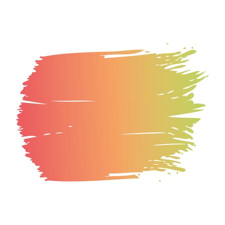 ブラシインク色塗装水彩スプロット抽象テクスチャベクトルイラスト 写真素材 - 93615916