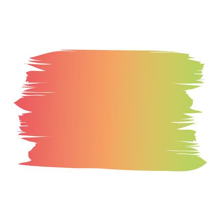 ブラシインク色塗装水彩スプロット抽象テクスチャベクトルイラスト 写真素材 - 93536812
