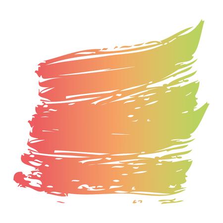 ブラシインク色塗装水彩スプロット抽象テクスチャベクトルイラスト 写真素材 - 93564081