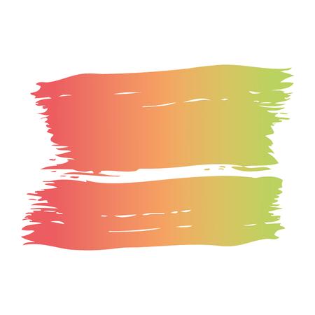 ブラシインク色塗装水彩スプロット抽象テクスチャベクトルイラスト 写真素材 - 93536820