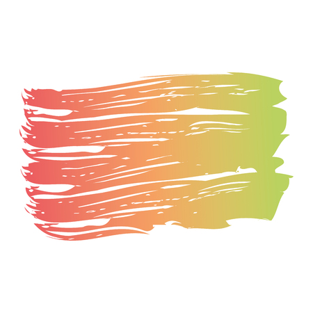 ブラシインク色塗装水彩スプロット抽象テクスチャベクトルイラスト 写真素材 - 93534518