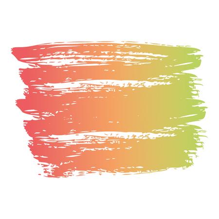 ブラシインク色塗装水彩スプロット抽象テクスチャベクトルイラスト 写真素材 - 93533128
