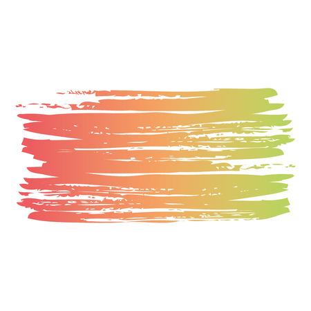 ブラシインク色塗装水彩スプロット抽象テクスチャベクトルイラスト 写真素材 - 93616043
