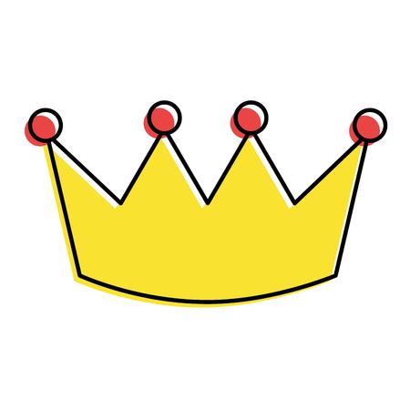 Crown  illustration Stock Vector - 93553062