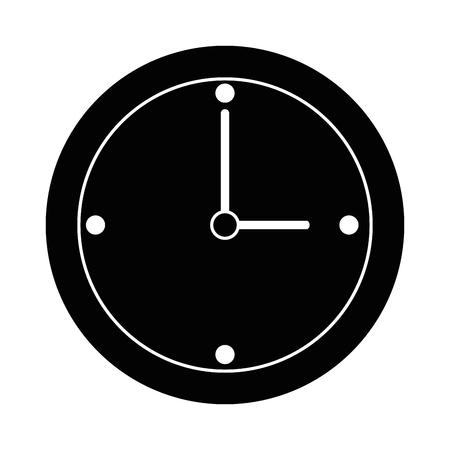 Zeituhr isoliert Symbol Vektor-Illustration , Design , Standard-Bild - 93560009