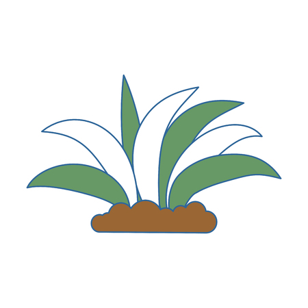 plant cultivated isolated icon vector illustration design Stok Fotoğraf - 93567410