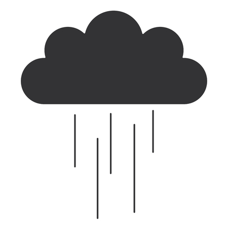 Cloud rain icon illustration design Banco de Imagens - 93603172