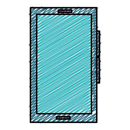 스마트 폰 장치 아이콘 벡터 일러스트 디자인 격리 된 스톡 콘텐츠 - 93615512