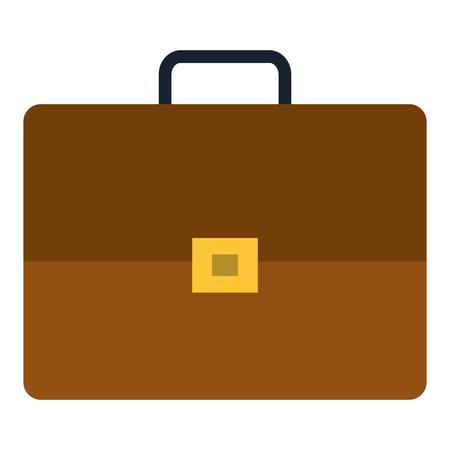 ポートフォリオブリーフケース分離アイコンベクトルイラストデザイン  イラスト・ベクター素材