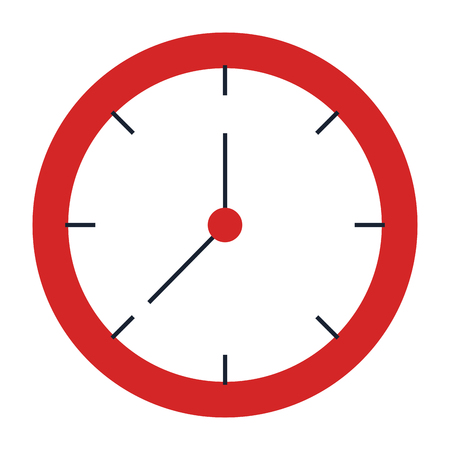 Uhr-Symbol Standard-Bild - 93607311