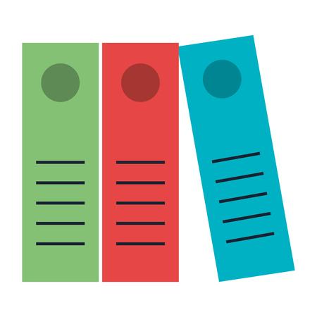 Document organizer book icon