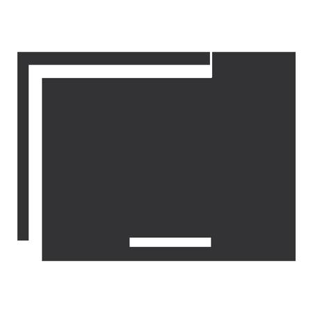 File folder documents icon vector illustration design Illustration