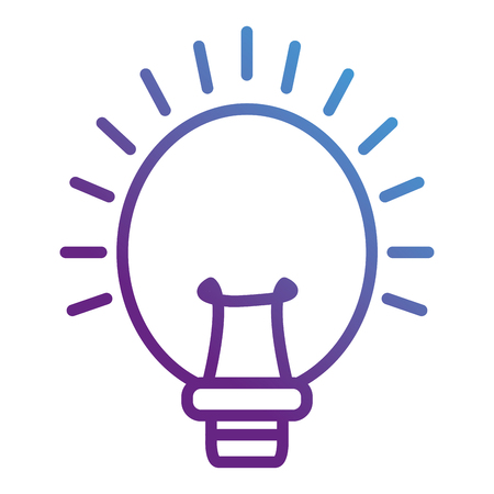 Light bulb design Иллюстрация