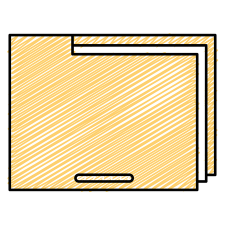 file folder documents icon vector illustration design  イラスト・ベクター素材