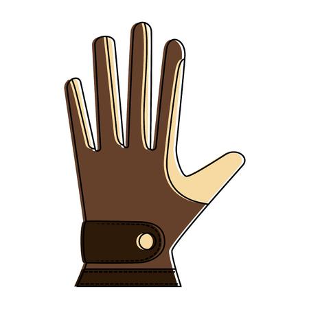 Golf glove accessory icon vector illustration design Ilustrace