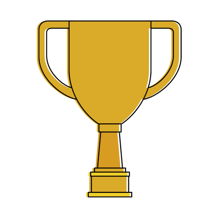 Trophy cup championship award vector illustration design Ilustrace