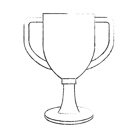 Trophy cup championship award vector illustration design Illusztráció