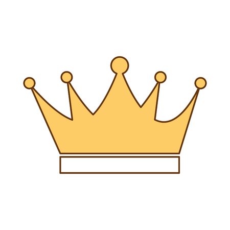 King crown isolated icon vector illustration design.
