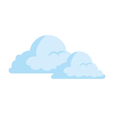 Weather cloud isolated icon vector illustration design Banco de Imagens - 93722496