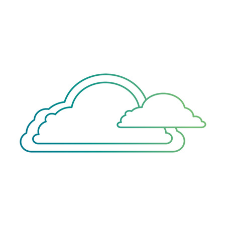 weather cloud isolated icon vector illustration design