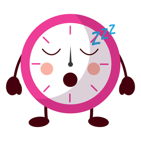clock sleeping icon image vector illustration design
