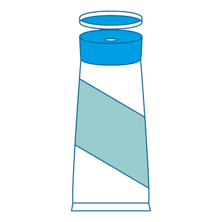 fles product crème pictogram vector illustratie ontwerp Stock Illustratie
