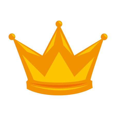 king crown isolated icon vector illustration design Zdjęcie Seryjne - 93725437
