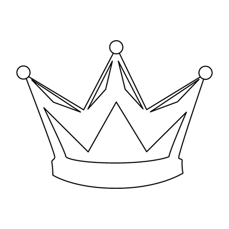 king crown isolated icon vector illustration design 版權商用圖片 - 93725831