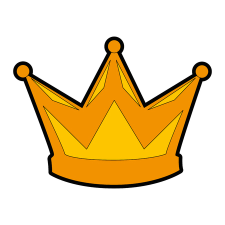 king crown isolated icon vector illustration design Фото со стока - 93726055