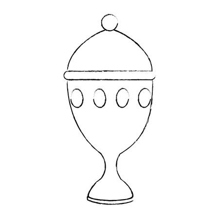 Calice tasse icône isolé design illustration vectorielle Banque d'images - 93727125
