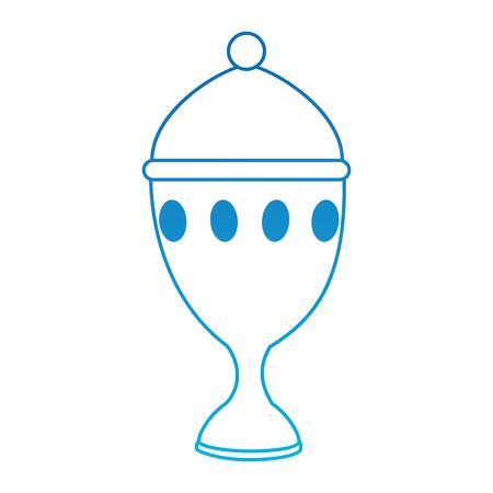 Calice tasse icône isolé design illustration vectorielle Banque d'images - 93735919